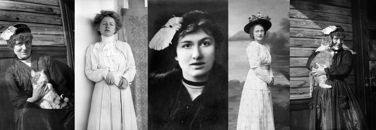 Edith Södergran-kollage